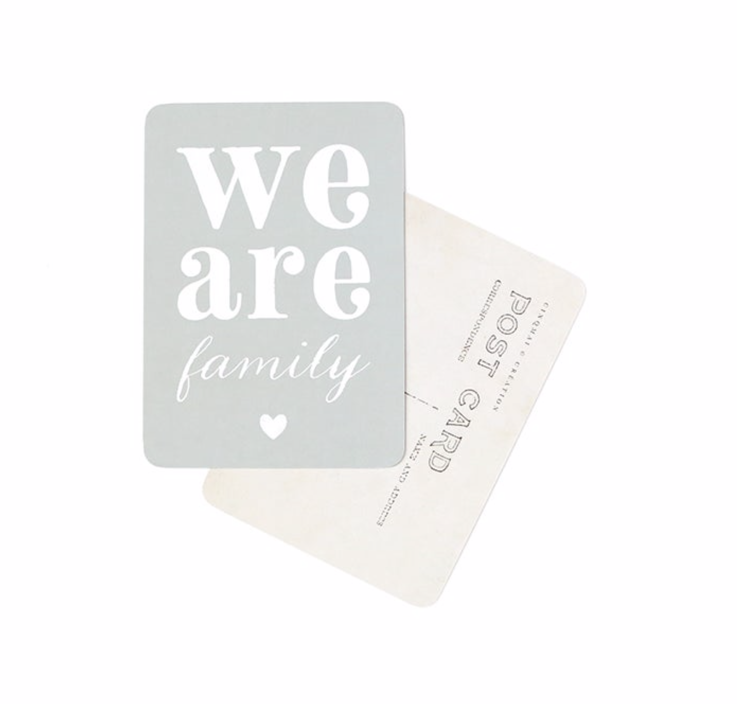 carte-we-are-family-cinq-mai-postale