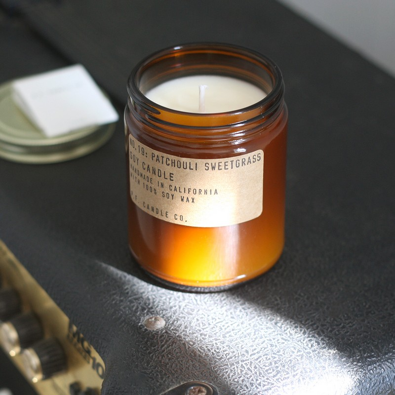 patchouli sweet grass pf candle 3