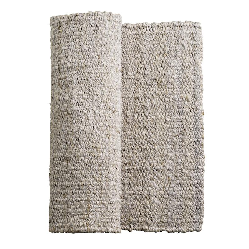 tapis gris en jute et chanvre tine k home le joli shop. Black Bedroom Furniture Sets. Home Design Ideas