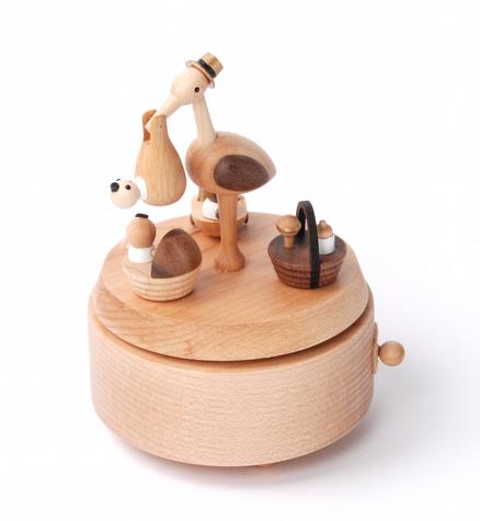 LPxdywlk Bo/îte /à Musique en Bois /à Manivelle Artisanat DIY Sculpt/é Bo/îte /à Musique D/écoration Maison Ornements Jouets pour Enfants Cadeau