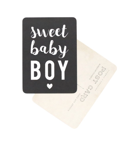 carte-sweet-baby-boy-ardoise