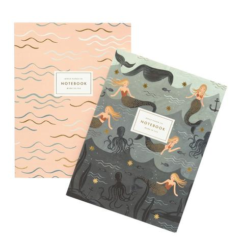 notebook-carnet-rifle-paper-co-mermaid-sirene (3)