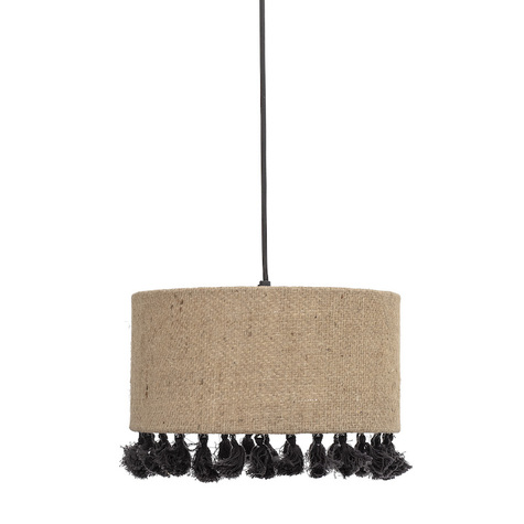 suspension-ronde-a-pompons-bloomingville