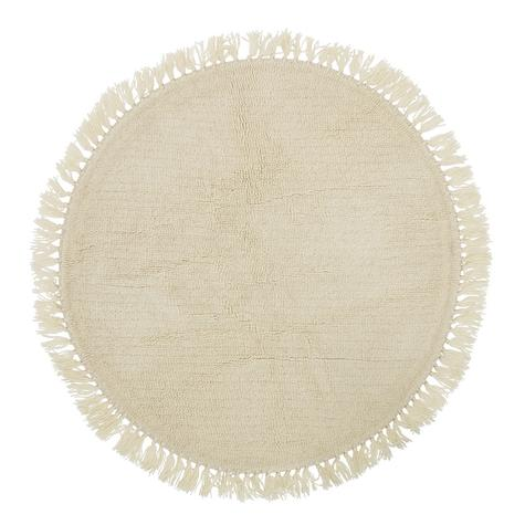tapis-rond-laine-franges-bloomingville