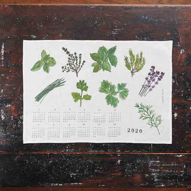torchon-herbes-calendrier